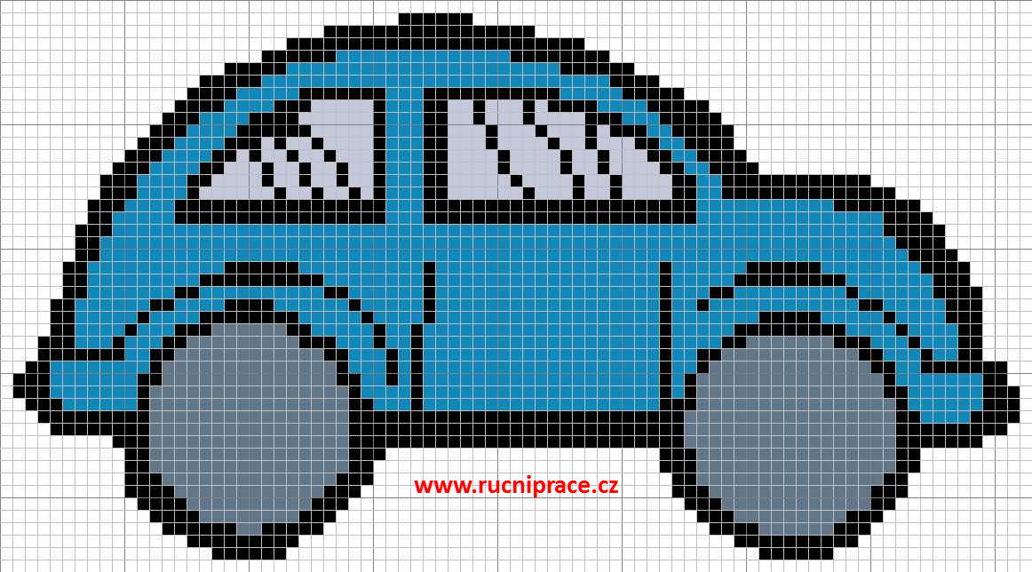 Car, free cross stitch, download pattern, cross stitch, free cross ...