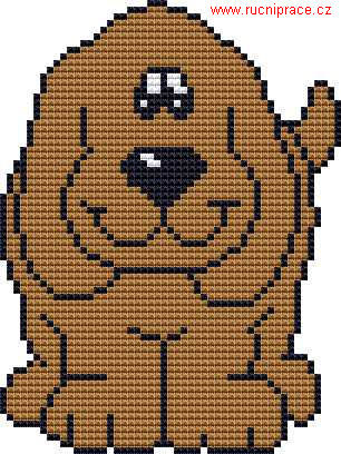 Cross Stitch Addict: FREE Cross Stitch Pattern – 'Scottie Dog'