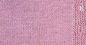 Pletení knoflíkových dírek