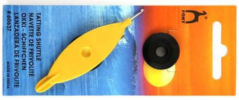 Frivolitkový člunek s háčkem