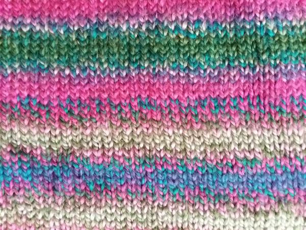 Hustota vzoru u pletení