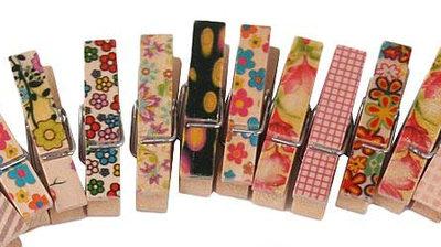 Malované kolíčky